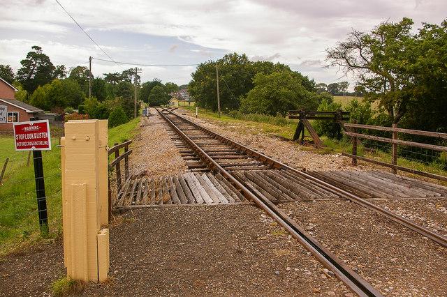 Packsfield Lane level crossing