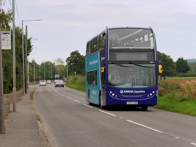 "Arriva ""Sapphire"" Bus on St Asaph Road"