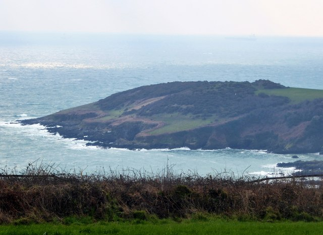 Rosemullion Head from Trelawne