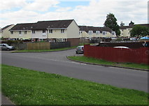 ST3487 : Houses in Broadmead Park, Newport by Jaggery