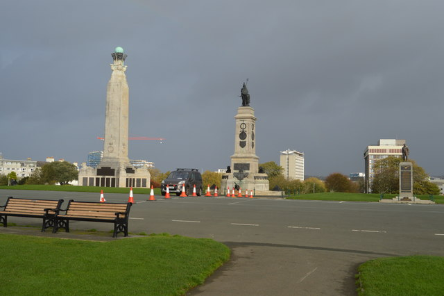 Monuments on The Hoe