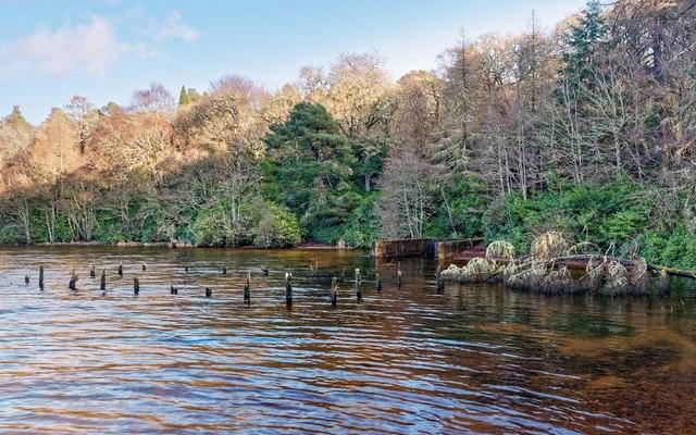 Old Boathouse Loch Ness