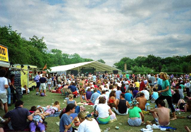 Cambridge Folk Festival, July 1990