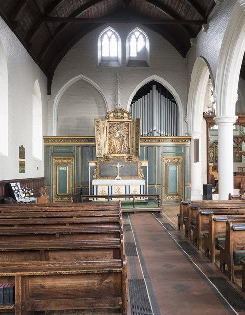 St John the Baptist, Spencer Hill - North chapel