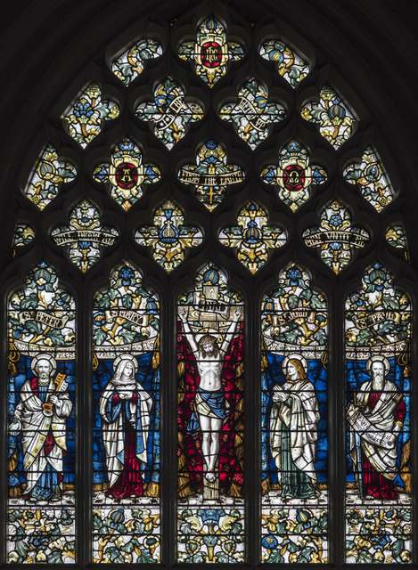 St John the Baptist, Spencer Hill - Stained glass window