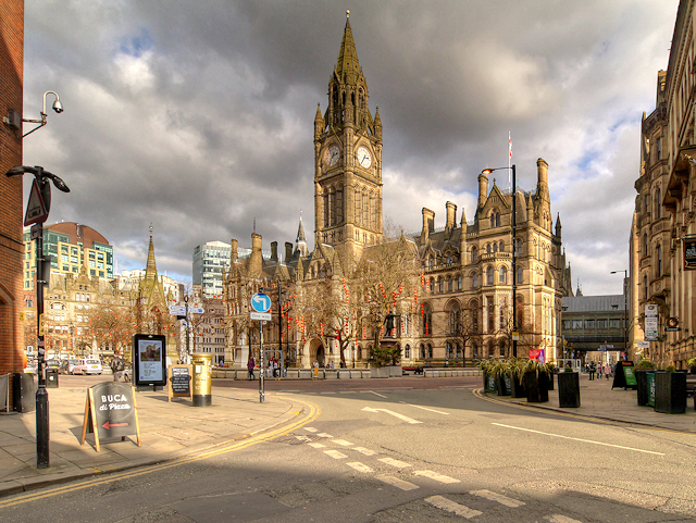 Manchester Albert Square and Town Hall
