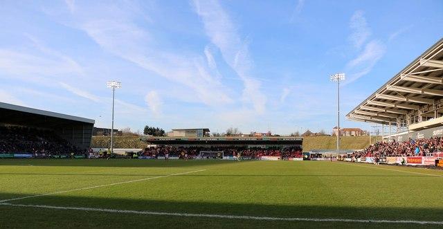 The Dave Bowen Stand at Sixfields Stadium