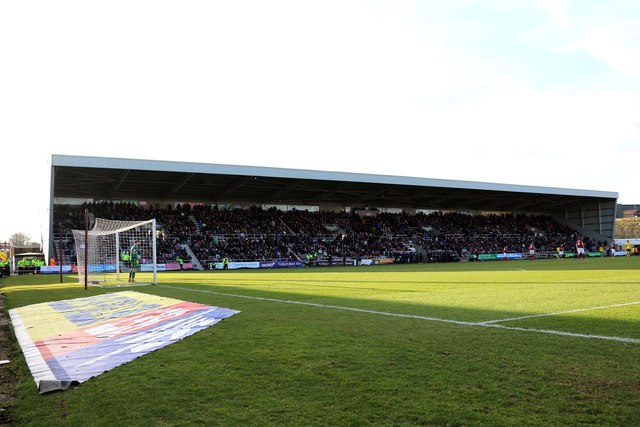 The West Stand at Sixfields Stadium
