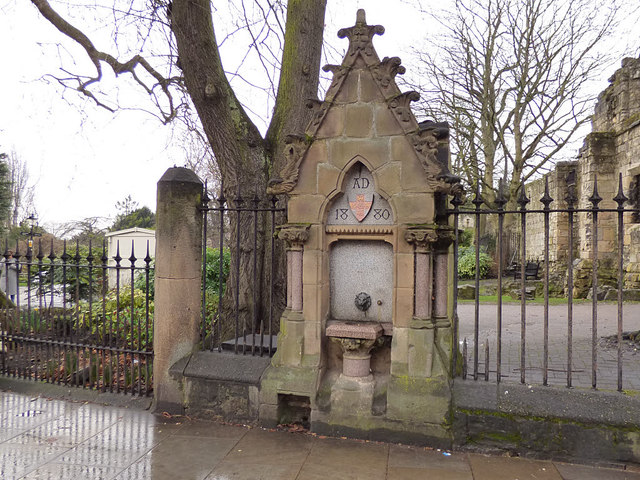 Drinking fountain, Museum Street, York