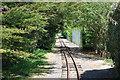TQ0301 : Miniature railway, Norfolk Gardens by Robin Webster