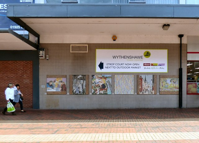 Wythenshawe Town Centre mosaics