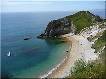 SY8080 : Cove to the East of the Durdle Door Arch by Ian Rainey