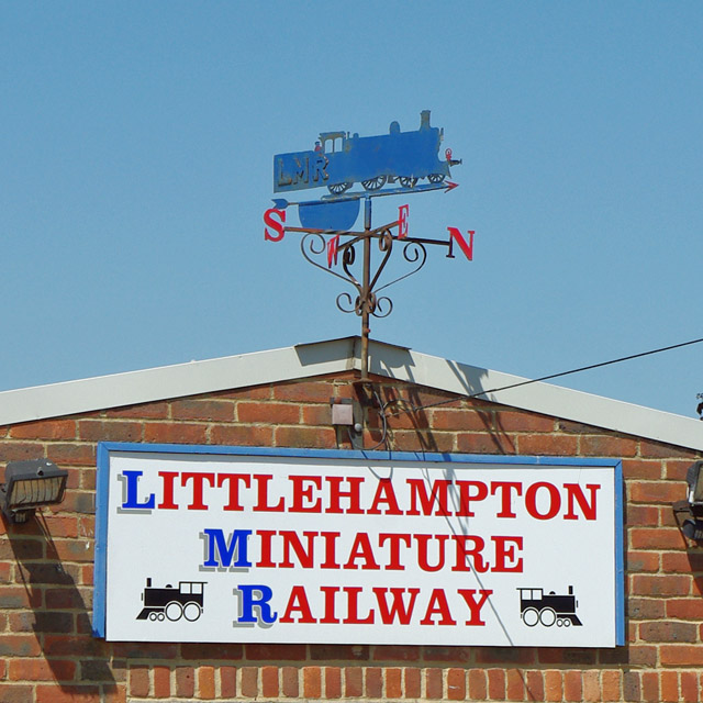 Weather vane, Littlehampton Miniature Railway