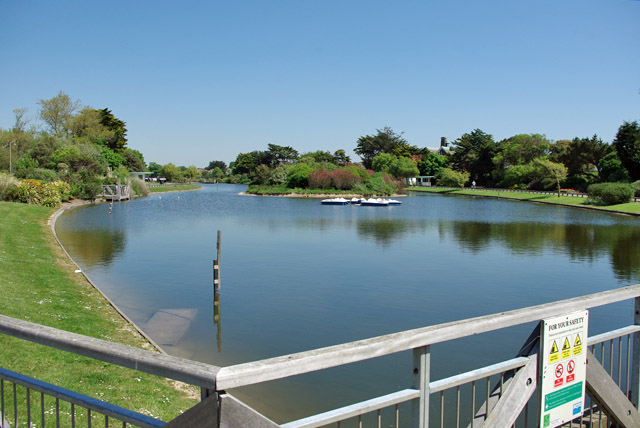 Mewsbrook Park Boating Lake, Littlehampton