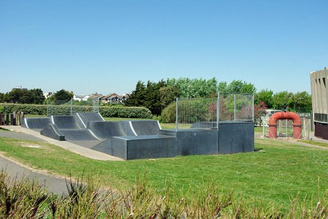 Skate park, Norfolk Gardens, Littlehampton