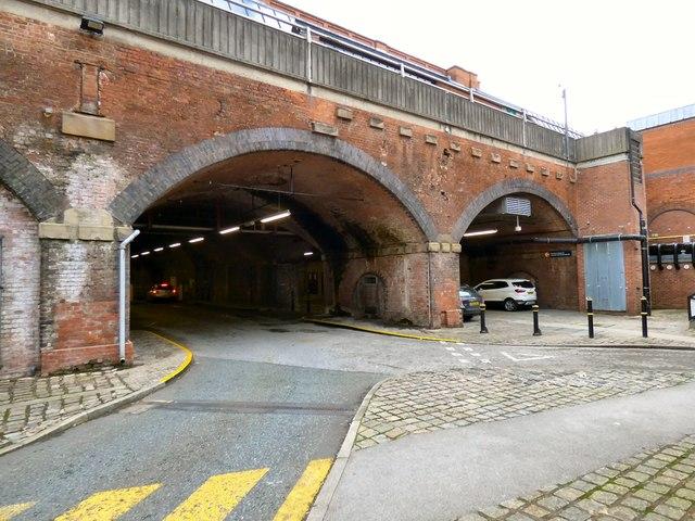 Going under Manchester Central