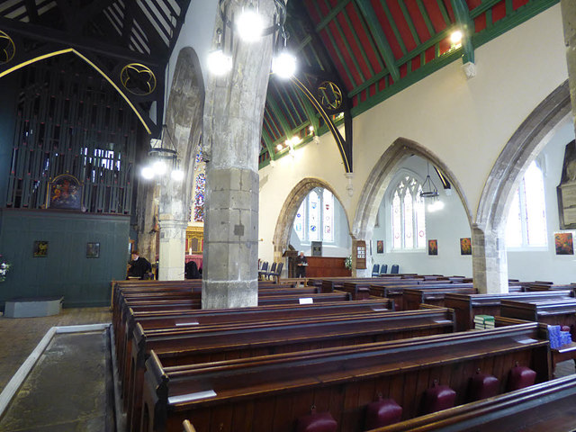 St Helen Stonegate - nave