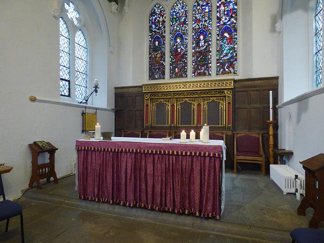 St Helen Stonegate - sanctuary