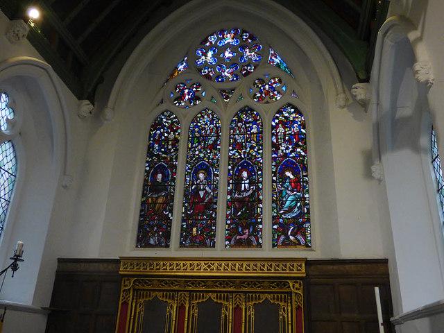 St Helen Stonegate - east window