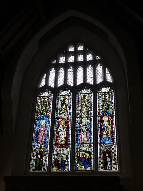 St Helen Stonegate - west window