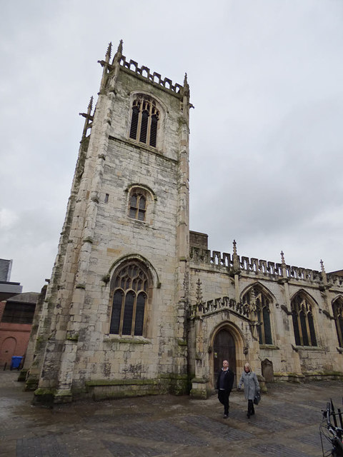 St Martin le Grand, York - tower