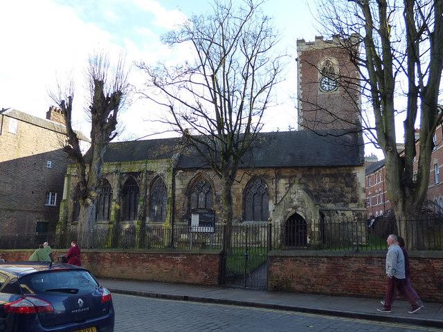Holy Trinity Micklegate - exterior