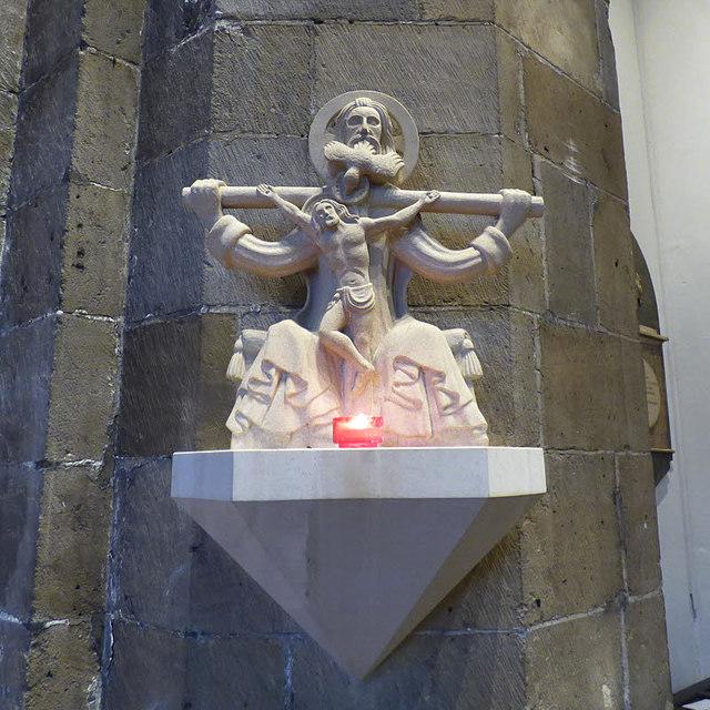 Holy Trinity Micklegate - replica carving