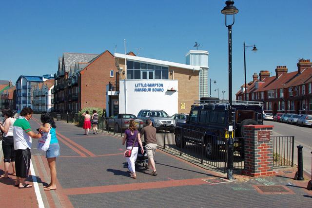 Littlehampton Harbour Board building