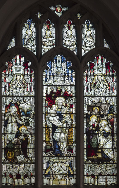 St Mary the Virgin, Fen Ditton - Stained glass window