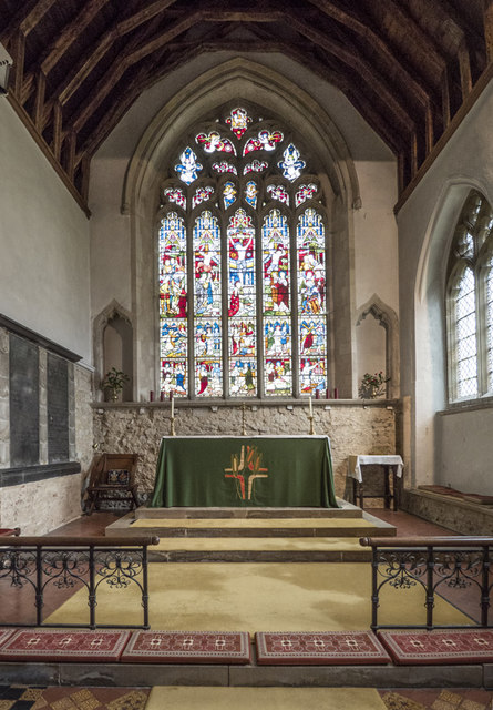 St Mary the Virgin, Fen Ditton - Sanctuary