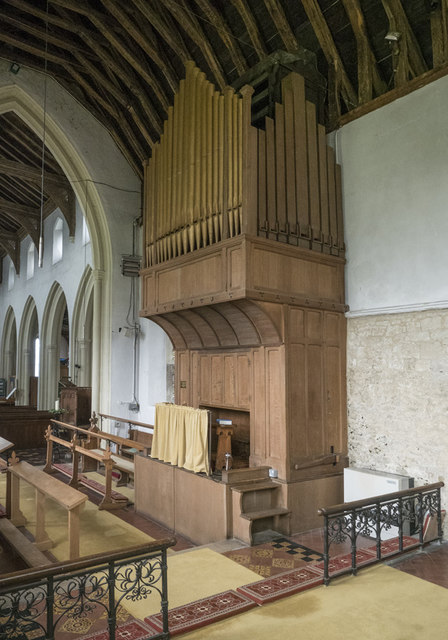 St Mary the Virgin, Fen Ditton - Organ