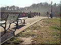 SX9878 : Promenade, Dawlish Warren by Derek Harper