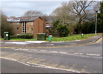 ST3096 : Edlogan Way telecoms cabinets, Croesyceiliog, Cwmbran by Jaggery