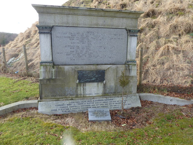 A family lair in Inverurie Bass Cemetery