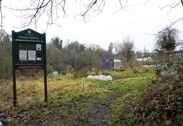 Wickham Hill Allotments