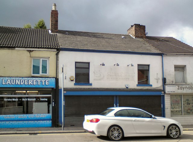 Ron Hill's former sports shop gone