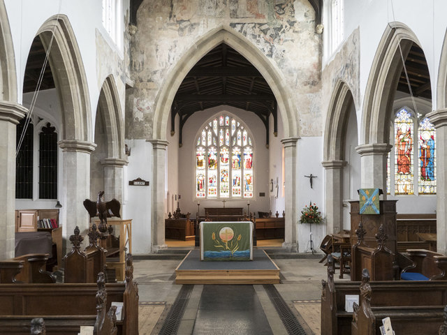 St Andrew, Chesterton - East end