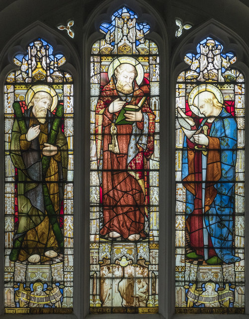 St Andrew, Chesterton - Stained glass window