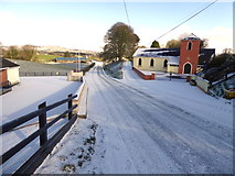 H4174 : Snow along Mullagharn Road by Kenneth  Allen