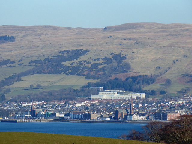 Largs from Cumbrae by Thomas Nugent