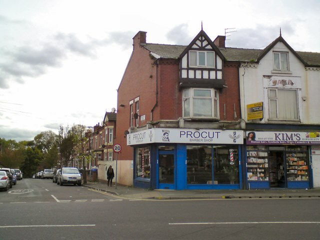 Corner of Hyde Road and Oakfield Grove