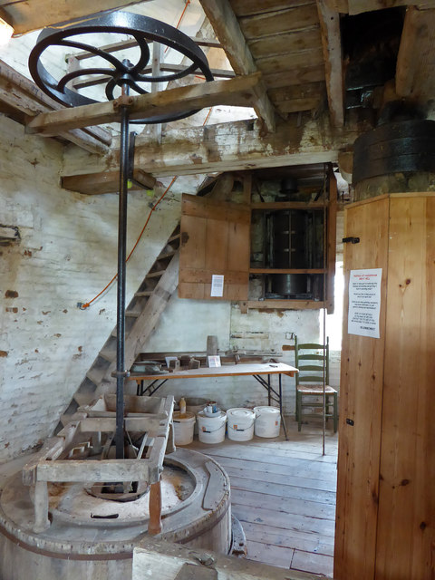 Great Mill, Haddenham - stone floor