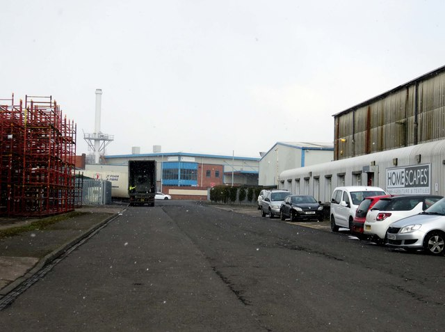 Central Avenue on Corngreaves Trading Estate
