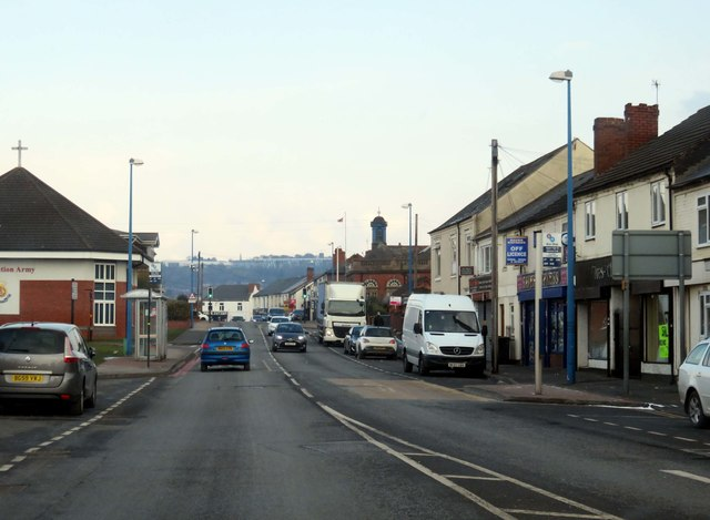 Upper High Street in Cradley Heath