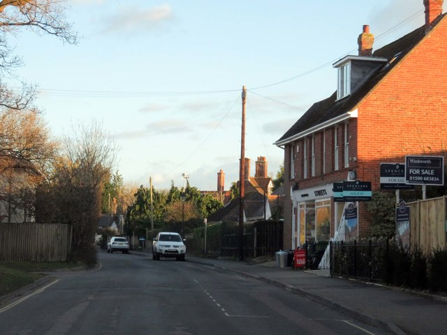 Brookley Road in Brockenhurst