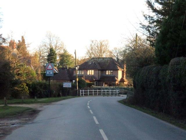 Burley Road in Brockenhurst