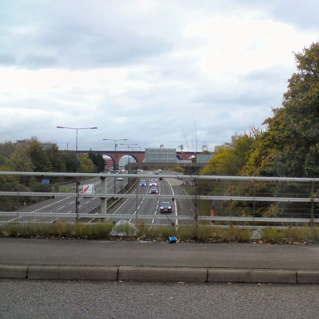 M60 at Stockport