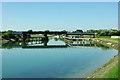 TQ0004 : Arun railway bridge, Ford by Robin Webster