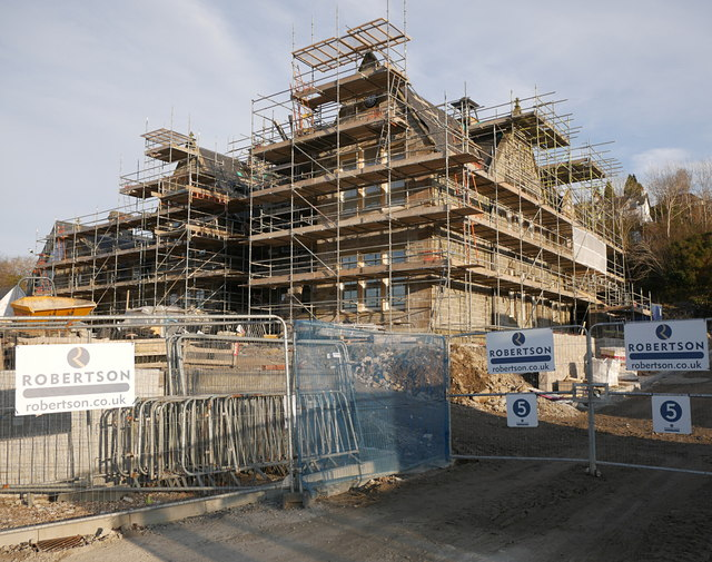 Restoration work, Fort William Primary School