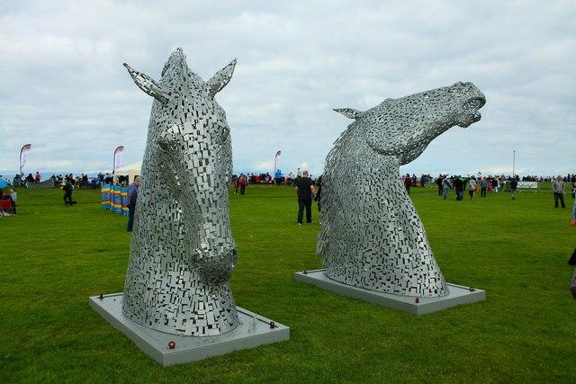 'Miniature' Sculptures of the 'Kelpies'